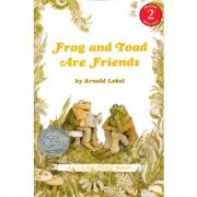 Frog and Toad Are Friends青蛙和蟾蜍是朋友(I Can Read,Level 2)凯迪克银奖