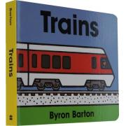 名家Byron Barton :Trains 纸板书