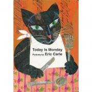 Eric Carle : Today Is Monday 今天星期一 (纸板书)