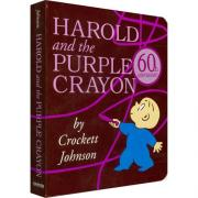 Harold and the Purple Crayon  阿罗有支彩色笔 【纸板】