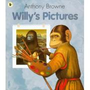 Anthony Browne :Willy's Pictures  威利的画 【平装】