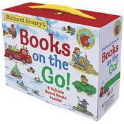 Richard Scarry's :Books on the Go ( Board Book )